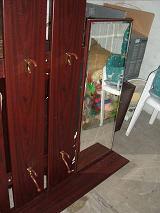 flurgarderobe mahagoni in hamburg garderobe flur keller. Black Bedroom Furniture Sets. Home Design Ideas