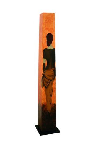 fazination afrika designer stehlampe in dekorationen shops. Black Bedroom Furniture Sets. Home Design Ideas