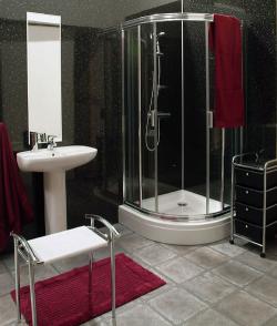 patentierte wandverkleidung in nass feuchtraeumen in. Black Bedroom Furniture Sets. Home Design Ideas