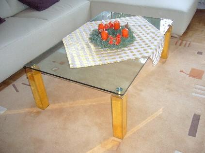 Designer glastisch in dreieich couchtisch sonstige for Designer glastisch
