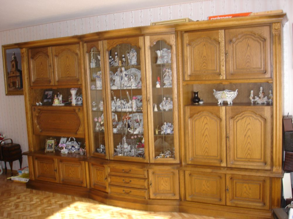 wohnzimmerschrank eiche rustikal in 72762 reutlingen wohnzimmerschrank anbauwand. Black Bedroom Furniture Sets. Home Design Ideas