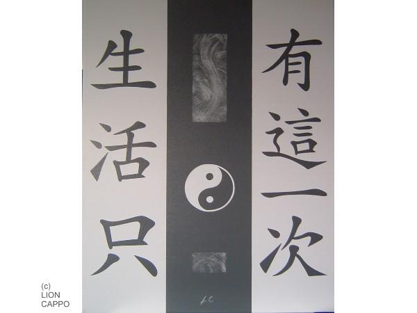 chinesische schriftzeichen auf leinwand im feng shui design in 94072 bad f ssing k nstler webseiten. Black Bedroom Furniture Sets. Home Design Ideas