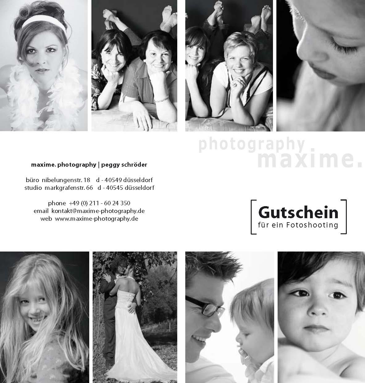 Gutschein Fuer Ein Professionelles Fotoshooting In 40476 Dusseldorf