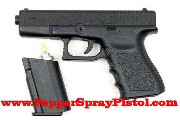 pfefferspray mit pistole replik auf selbstverteidigung in. Black Bedroom Furniture Sets. Home Design Ideas